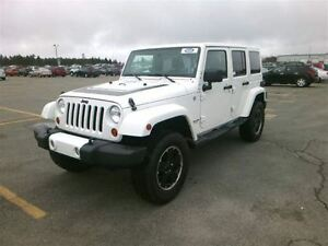2012 Jeep WRANGLER UNLIMITED UNLIMITED ALTITUDE CUIR SIEGES CHAU