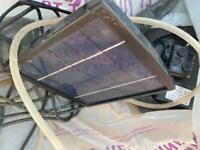 Solar pond air pump
