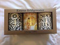 Emma Bridgewater Toast & Marmalade set of 3 caddies/storage tins/cannisters