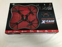 Drone: Radio Control X-Cam Live Quadcopter - Brand New