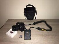 Nikon D3300 with Lens, 32GB SD CARD & Carrier bag