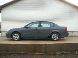 2007 Chevrolet Malibu LS 4 DOOR AUTOMATIC