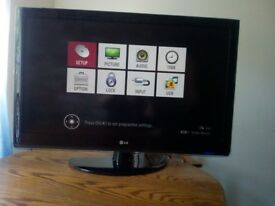 lg 42 inc hd tv good working order
