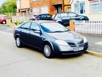 2006 Nissan Primera 1.8, Long Mot, Low Mileage, Only 1 Former Keeper,Cheap 4 Insurance,Reliable Car