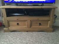 Wooden tv unit for sale