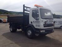 10 Tonne lorry for Sale. Three way tipper, good working condition.