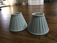 LAURA ASHLEY LAMP SHADES x2 - £12