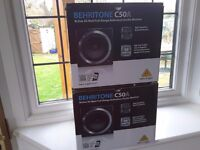 Pair of Behringer Studio Monitors - Behritone C50A's