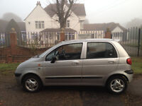 CHEVROLET MATIZ 1.0 2005 YEARS MOT - IDEAL FOR A YOUNG DRIVER CHEAP TAX/INSURANCE-WE CAN DELIVER 2U