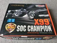 SOC-CHAMPION X99 LGA 2011-3, I7-5820K