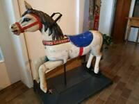 ★ ANTIK ★ Karussellpferd Holzpferd ★ Pferd von Karussell um 1900★ Nordrhein-Westfalen - Neunkirchen-Seelscheid Vorschau