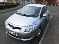 07 Plate Toyota Auris 1596cc Owned by Mature Owne Long MOT Low Mileage SH