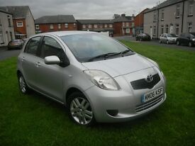 TOYOTA YARIS 1.3 VVT-I T3 06 REG NEW SHAPE 5 DOOR 2 OWNER LOW MILEAGE FULL SERVICE HISTORY