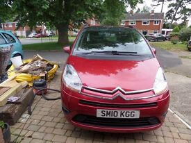 Citroen C4 Grand Picasso 7 seater VTR+HDI, 2010 plate with 11 months MOT and low tax