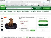X large dog bed