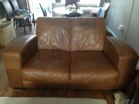 tan leather suite. FREE