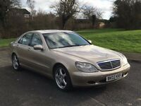 QUICK SALE WANTED! Mercedes-Benz S Class 3.2 S320 Petrol Automatic