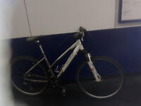 FULLY SERVICED Women Men FAST LIGHTWEIGHT ALUMINIUM - CARRERA CROSSFIRE Racer Hybrid Bike Bicycle