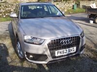 2012 Audi Q3 SE Low mileage. With Audi Warranty and Full Audi History. Immaculate throughout