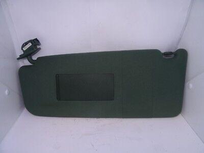 *AUDI A6 C5 2000-2005 GREEN PASSENGER LEFT SUN VISOR WITH LOOM 4B0857551