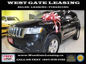 2012 Jeep Grand Cherokee LIMITED   NAVIGATION   GLASS ROOF  