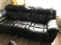 leather sofa seater