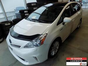 2012 Toyota PRIUS V HYBRIDE NAV CUIR TOIT  BLUETOOTH GARANTIE 36