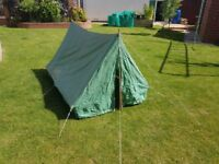 Vintage Scout tent - 2 man (Play Tent / Toy)