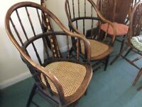 2 off stylist wooden chairs