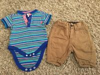 Boys Ted Baker outfit 0-3 Months