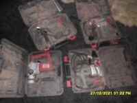 5 x power drills selling for spares