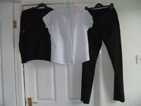 Uniform - girls black & white (school)