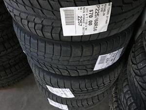 225/60/16 Michelin X-Ice *Winter Tires*