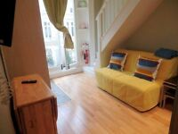 SPECIAL OFFER ULTIMOGIORNO last day 449pw ALL INC ALMOST ONE BEDROOM NOTTING HILL 4/5/6+ MONTHS