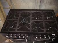 Brand New LEISURE A La Carte 100 AL100F230K Dual Fuel Range Cooker - Black