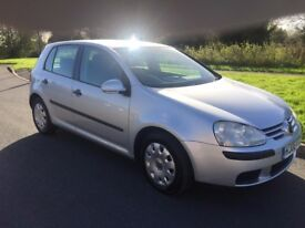 Great condition reliable VW Golf diesel, manual, previous lady owner