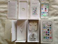Iphone 5s NEW 16gb Original Any network ALL accessories unused boxed