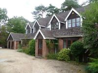 2 Double Rooms to let in country house 10/15 mins Southampton