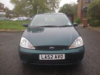 Ford Focus 1.6 automatic 3 owners No MOT marks on bodywork very good