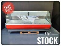 OFELIA 258cm Serve Over Counter Meat Display Fridge Butcher N3921 £2650+VAT