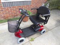 As new Mobility Scooter