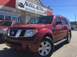 2006 Nissan Pathfinder Limited edition, 4x4 certified, leather,