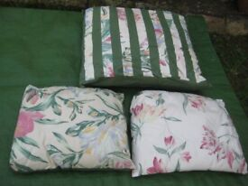 Three Complementary Cushions in Their Own Storage Bag for £5.00