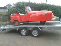 Man and Van Vehicle Transport Removals South West Barn Find Restoration Caravan Car Van Non runner