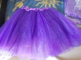 3 purple tutus unused