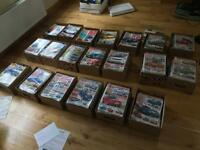 Large collection of Auto Express magazines 1996-2018