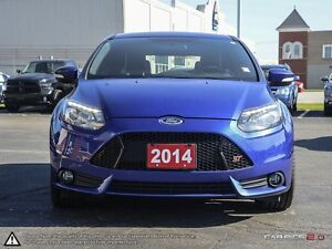 2014 Ford Focus ST ST | LOCAL TRADE | NAV | HEATED SEATS | BLUET Cambridge Kitchener Area image 2