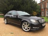 MERCEDES C220 CDI AMG SPORT 2012, PART EXCHANGE MOST WELCOME WITH ANY CAR!!!