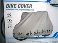 (2119) WATER REPELANT BIKE BICYCLE RAIN COVER, SUITABLE FOR BICYCLE, MOPED AND SCOOTER