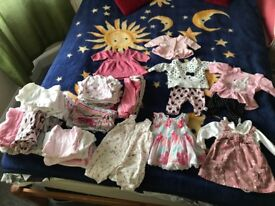 Baby girl newborn up to 1 clothes
